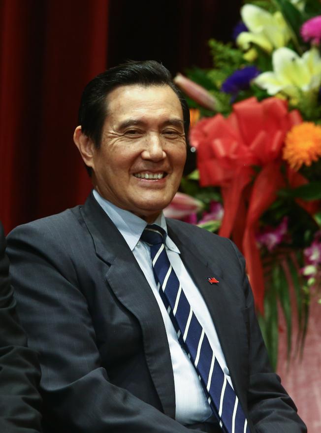 韓國瑜在洛杉磯受訪時,指過去三屆總統都是台大法律高材生,主政後卻讓台灣經濟殘廢了。圖為前總統馬英九。(本報資料照片)