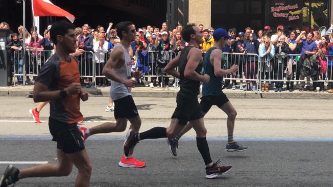 第123屆波士頓馬拉松賽。記者劉晨懿之╱攝影