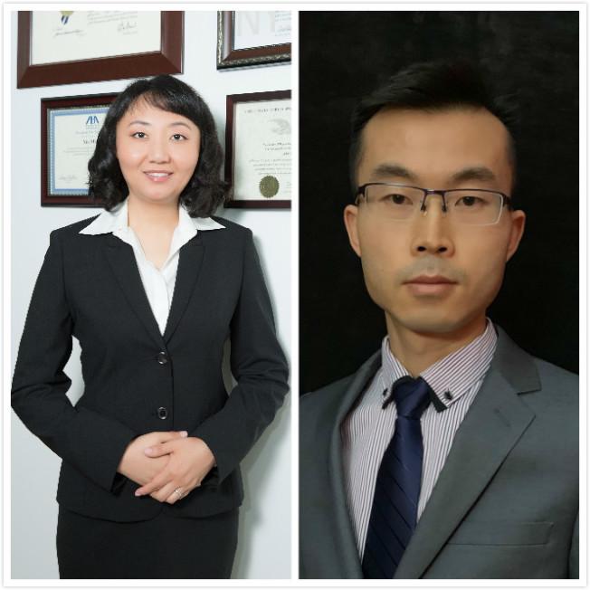 陳偉濤(右)是苗欣律師樓地產法專家。