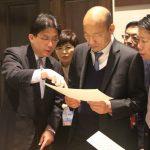 韓國瑜參觀胡佛檔案館
