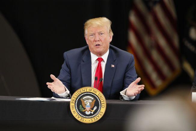 智庫外交政策協會給川普總統的外交政策評分為B+。(Getty Images)