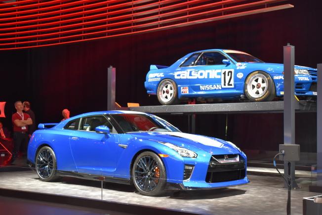 「2019紐約國際車展」從經濟車型到超級跑車等應有盡有皆有。(記者顏嘉瑩/攝影)