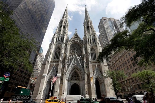 紐約聖派翠克大教堂。(美聯社)