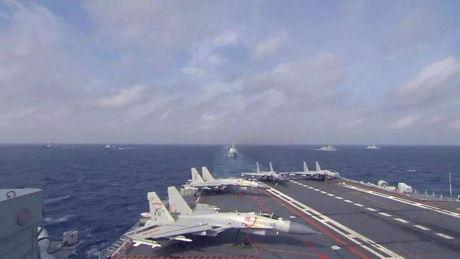 中国公开首艘国产航母海试画面曝光舰内多处场景