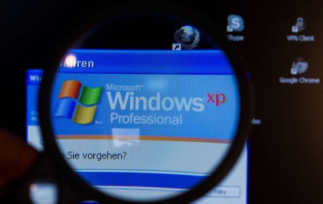 Windows XP歷經17年終於走入歷史。(歐新社)
