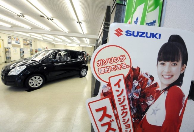 鈴木汽車(Suzuki)示意圖。 歐新社資料照