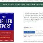 龐諾書店開放穆勒報告預定 報告公開後民眾可免費閱讀