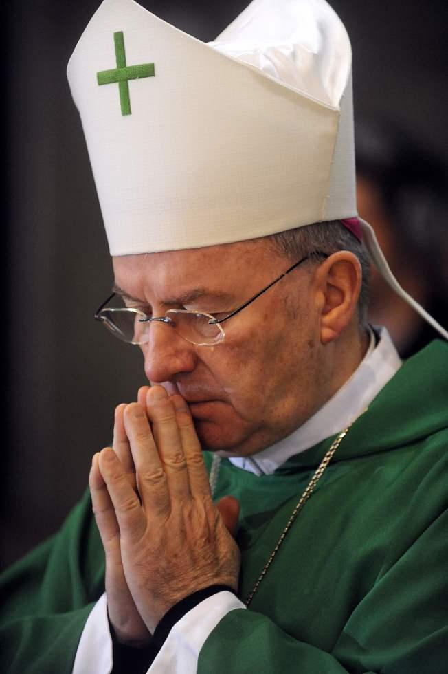 梵蒂岡駐法國大使萬圖拉(Nuncio Luigi Ventura)。Getty Images