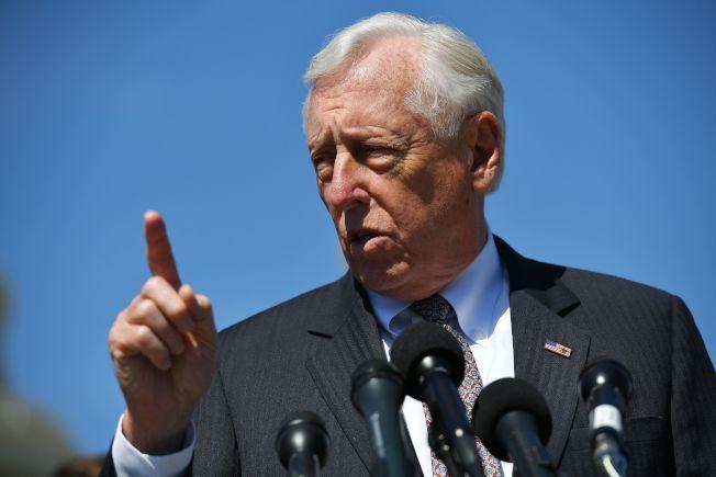 眾議院民主黨領袖霍耶爾(Steny Hoyer)。Getty Images