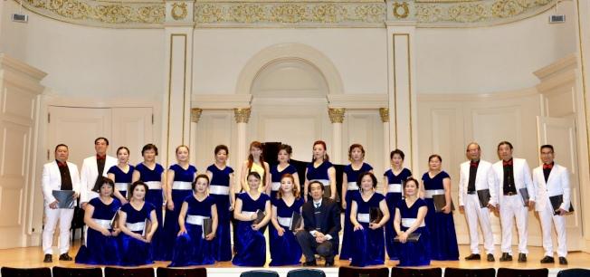 音樂會演員在卡內基音樂廳綵排。(主辦方提供)