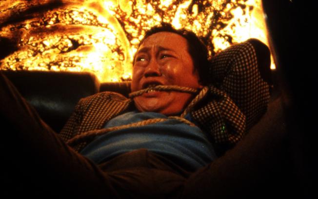 香港演員沈威憑藉《省港旗兵》中「阿泰」角色獲得香港電影金像獎最佳男配角。圖為電影劇照。(翻拍自YouTube)
