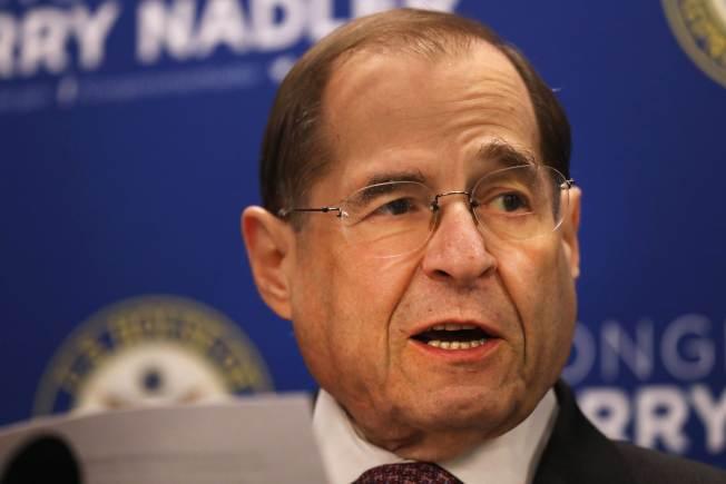 民主黨籍國會眾院司法委員會主席納德勒,要求特別檢察官在5月23日前到國會作證。(Getty Images)