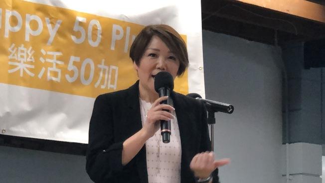 「樂活50加」創辦人之一李兆平。(記者王若然/攝影)