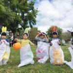 復活節撿彩蛋 兒童樂開懷