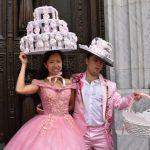〈圖輯〉 紐約復活節「帽子大遊行」 華人造型吸睛