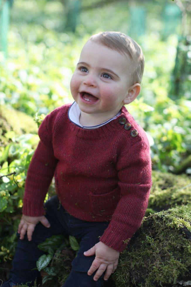 路易小王子滿周歲了。(Getty Images)