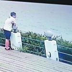 泰山姊弟雙屍案 生父下車嘔吐、步向沙灘失蹤