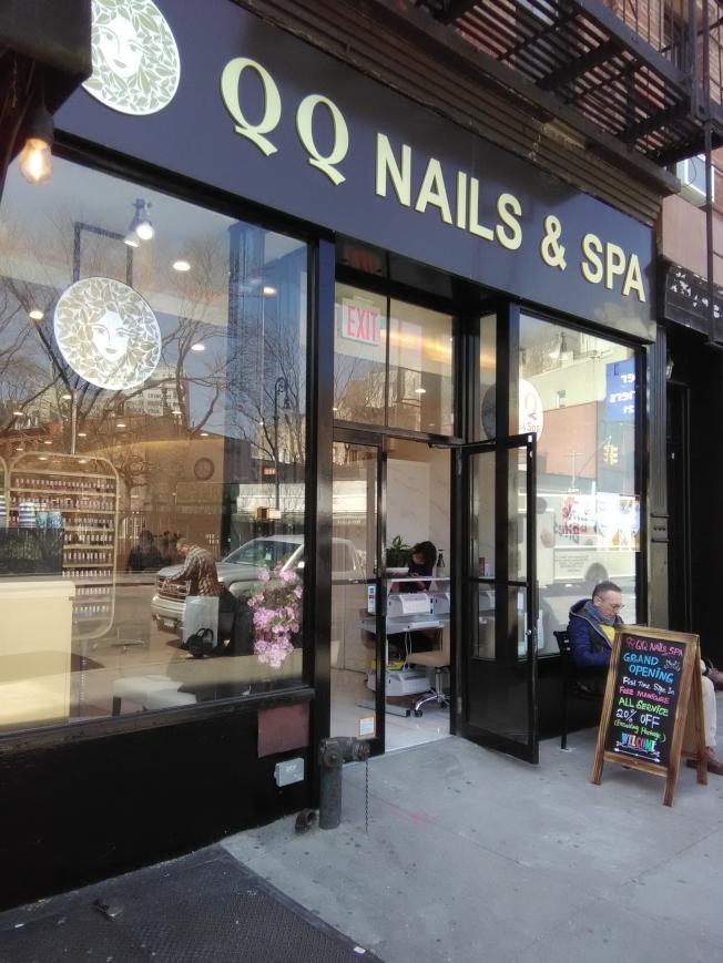 指甲美容店也可發展成連鎖店。(韓傑/攝影)