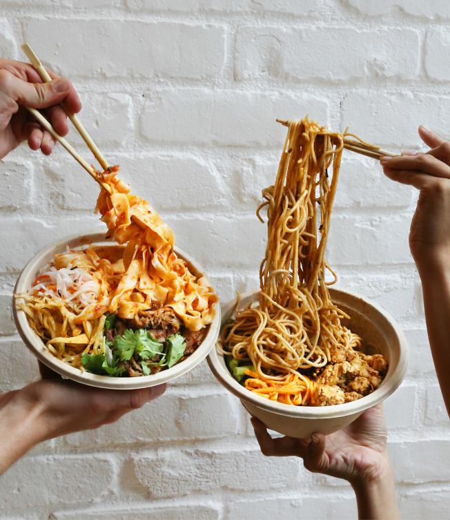 君子食堂兩個主要產品之一拌麵。(君子食堂/提供)