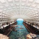 〈圖輯〉通往西班牙海灘的華府地鐵?她把地鐵變成「世界」美景
