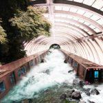 超現實「脫軌」美照 她把華府地鐵變世界美景