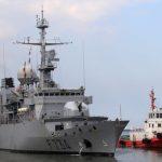 法艦通過台海 巴黎未具名軍官:平均每年一次