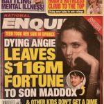 裘莉衰被指瀕臨病危 上億財產只留給大養子 其他沒分