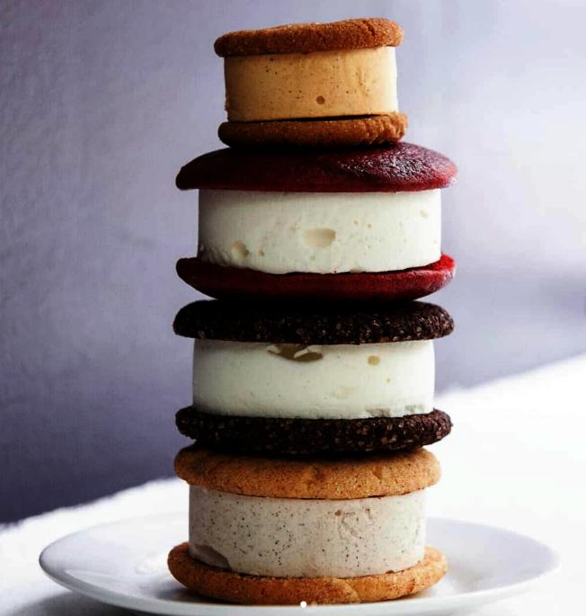 麥迪遜廣場公園美食市集「Melt Bakery」提供冰淇淋三明治。(取自官網)