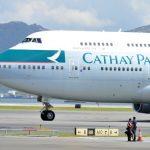 機上物品不斷被偷走 國泰突檢機組員
