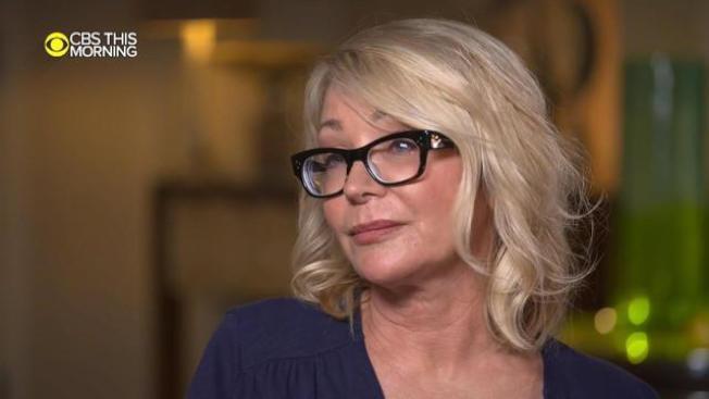 恩迪柯特上電視受訪,回憶被綁架慘痛經過。(CBS電視台)