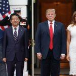 川普見安倍:5月底訪日或簽貿易協議