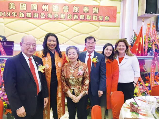 岡州總會館春宴。(照片由市長辦公室提供)