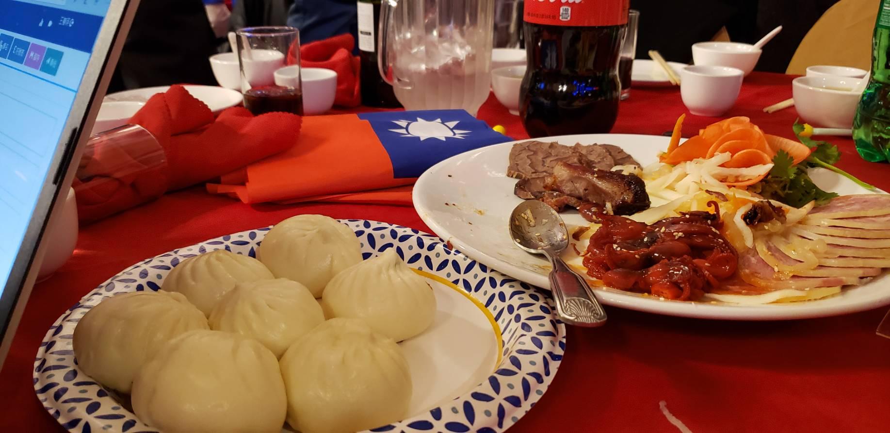 波士頓餐會上的菜色之一。記者唐嘉麗/攝影