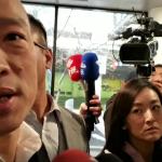 韓國瑜抵波士頓受訪:不能給高雄丟臉