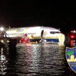 佛州驚傳波音737客機衝進河裡  142人獲救