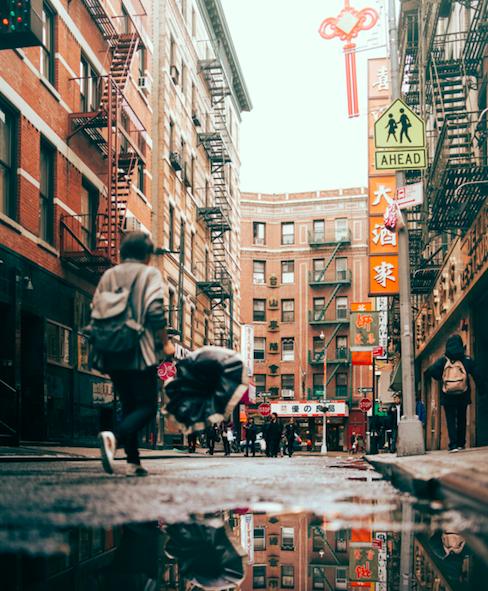 纽约曼哈顿中国城