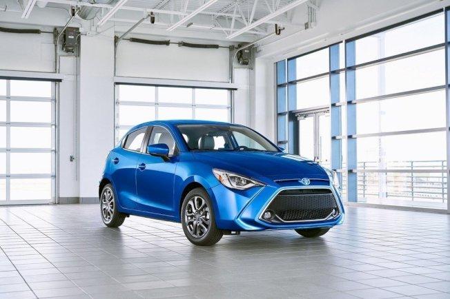 2020年式美規Toyota Yaris Hatchback。(Toyota)