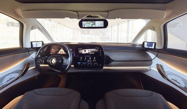 全新Renault雷諾C級距電動車估計將於2022年,搭載EV電動車專屬底盤發表。(Renault)