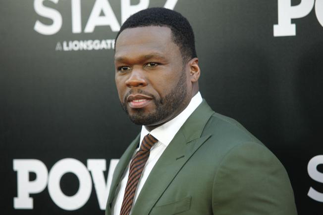 饒舌歌手兼企業家50分(50 Cent)。(美聯社)