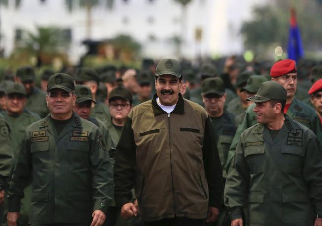 委內瑞拉反對派多次嘗試推翻馬杜洛政權,但迄今未果。圖中為委內瑞拉總統馬杜洛(Nicolas Maduro)。美聯社