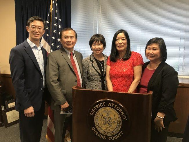 紐約州首位亞裔女法官 陳翠芳獲表彰 要回北京學中文