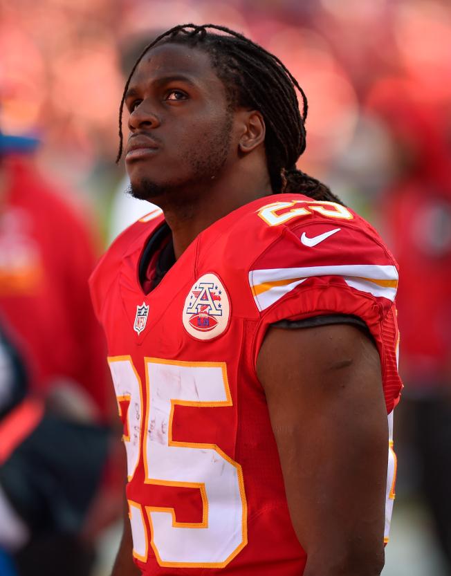 查爾斯是NFL史上非常被低估的跑鋒。(Getty Images)