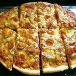 我愛一個人煮/愈嚼愈香海鮮煎餅和披薩
