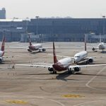 梅雨季要來了…上海航空波音737MAX 北飛太原、蘭州封存