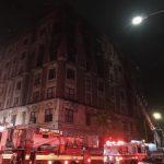 曼哈頓哈林區公寓凌晨大火 6人葬身火海
