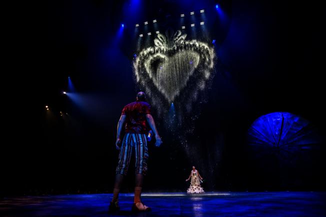 太陽劇團攜墨西哥主題劇作「LUZIA」來紐約巡演。(演出公關提供)
