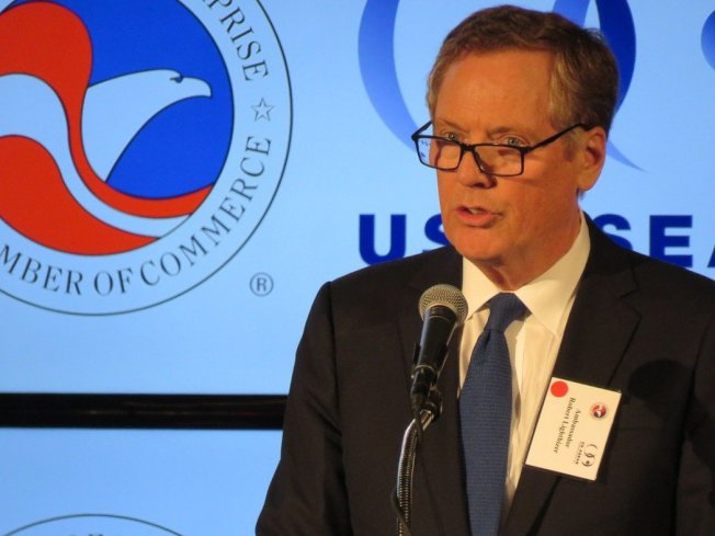 美國貿易代表賴海哲。本報資料照片