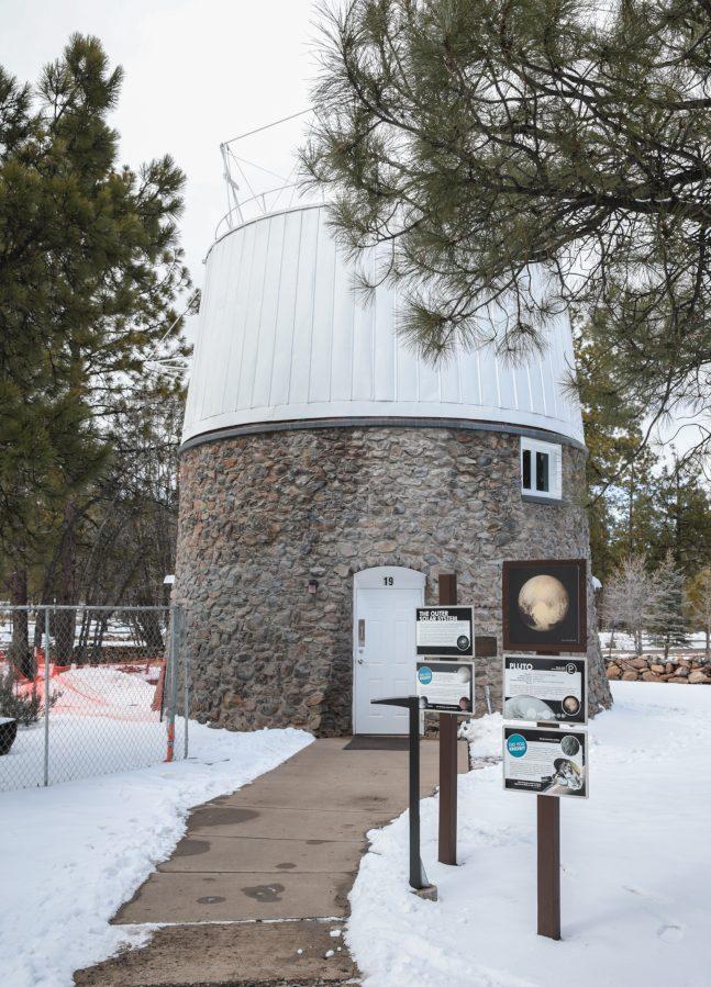 1930年,湯博在這個觀察台發現冥王星。