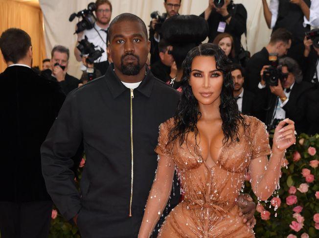 女星金卡戴珊宣布,她和饒舌歌手丈夫肯伊威斯特所請的代理孕母已順利產下兩人第4個孩子。(Getty Images)