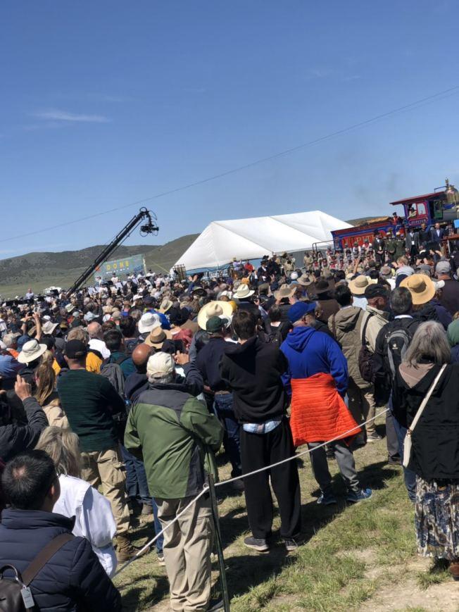 現場預計有超過萬人參與活動。(伍尚齊提供)